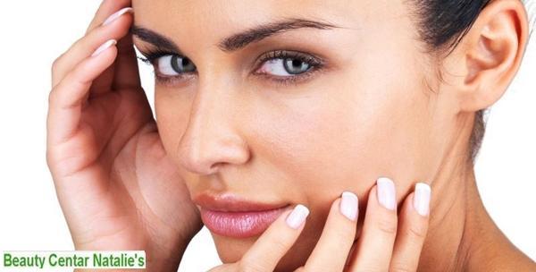 Dijamantna mikrodermoabrazija, masaža lica, njega