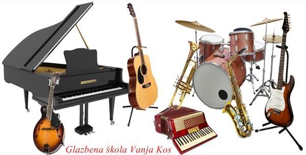 Individualna poduka sviranja violine, harfe, saksofona