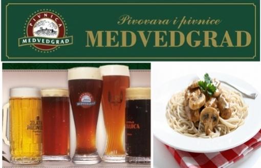 Pivnica Medvedgrad - vikend ručak za dvoje