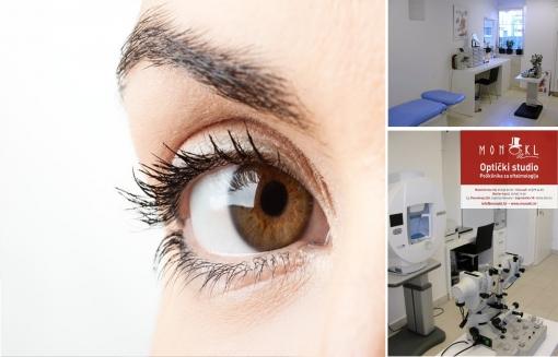 Kompletan oftamološki pregled na više lokacija