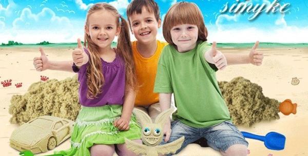 Kinetički pijesak za djecu