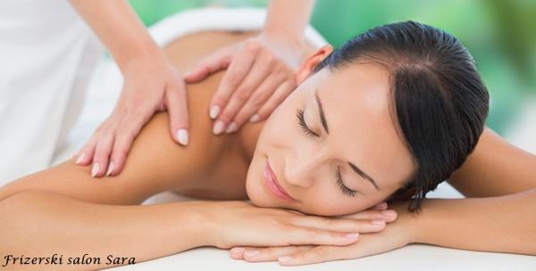 Masaža po izboru – 2 parcijalne ili 1 cijelog tijela u salonu Sara od 65kn!