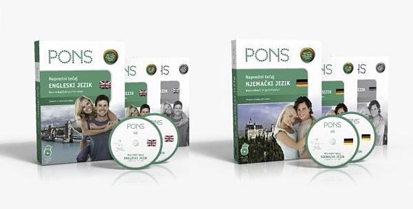 Engleski ili njemački jezik, napredna razina - PONS paket