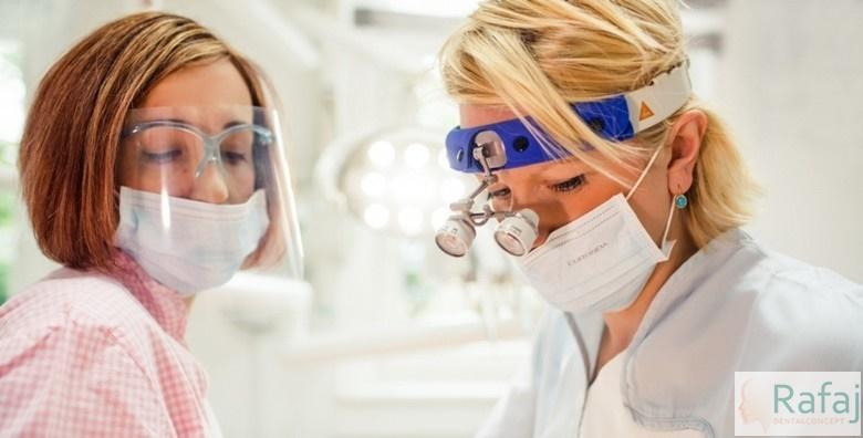 Samoligirajući metalni aparatić za zube za jednu čeljust, svi pregledi i retencije za 4.250 kn!
