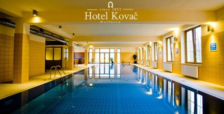 WELLNESS U SLOVENIJI - 2 noćenja s polupansionom za dvoje uz neograničeno korištenje bazena, jacuzzija i sauna u Hotelu Kovač 3* za 1.043 kn!