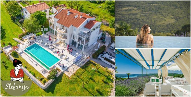 Ponuda dana: ISTRA, CIJELA SEZONA Luksuzan odmor u malom istarskom selu s pogledom na more! 2 ili 3 noćenja s doručkom za 2 do 4 osobe uz korištenje bazena od 2.566 kn! (Villa Štefanija 4*)