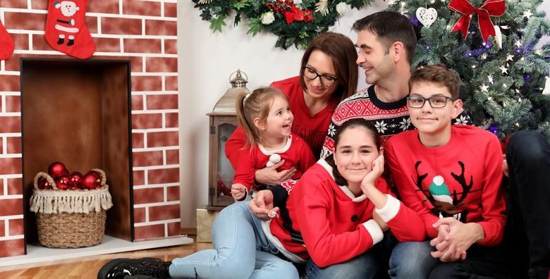 Božićno fotografiranje - ovjekovječite blagdane prekrasnim fotografijama za 450 kn!