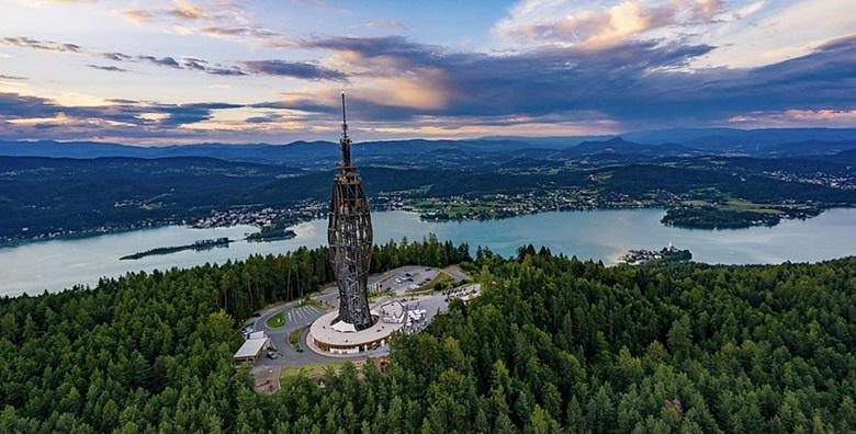 Ponuda dana: AUSTRIJA Uživajte u očaravajućem pogledu s vidikovca Pyramidenkogel, posjetite dvorac Rosegg i elitni gradić Velden za 199 kn! (Putnička agencija Autoturist - Park ID kod: HR-AB-01-080015747)