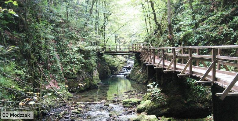 [IZLET] Oduševite se prekrasnom prirodom kanjona Kamačnik, posjetite Fužine i kuću I.G. Kovačića u Lukovdolu za 145 kn!