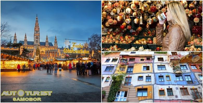 Advent u Beču - posjetite najpoznatiji i najveći božićni sajam i neka vas obuzme blagdanski ugođaj - cjelodnevni izlet za 259 kn!