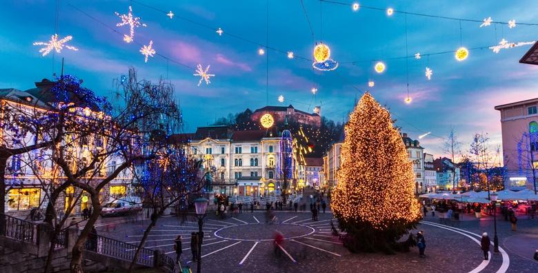 Ponuda dana: Advent u Mozirskom gaju i Ljubljani - božićna avantura u slovenskoj metropoli i parku vrtova, jezerca i potoka s više od pola milijuna božićnih lampica za 149 kn! (Putnička agencija Autoturist - Park ID kod: HR-AB-01-080015747)