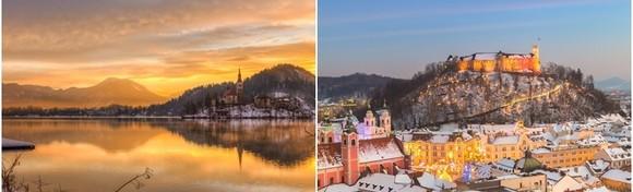 Advent na Bledu uz posjet Ljubljani - upoznajte blagdansku čaroliju najljepšeg slovenskog jezera i istražite prekrasno ukrašeni glavni grad za 149 kn!