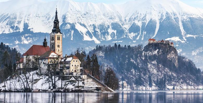 Zimska idila u srcu Slovenije - posjetite idilično ledenjačko jezero Bled, pozvonite za sreću na bledskom otoku i upoznajte znamenitosti Ljubljane za 149 kn!