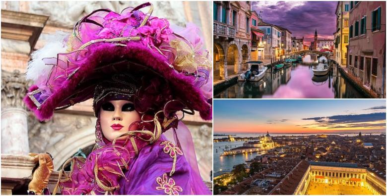 Karneval u Veneciji - izlet s prijevozom za 219 kn!