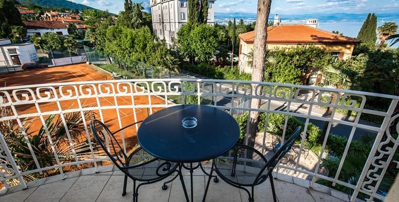 POPUST: 57% - WELLNESS U LOVRANU 2 noćenja s doručkom za dvoje uz korištenje spa oaze u Villi Eugenia**** u blizini šetališta Lungomare za 1.149 kn! (Hotel Villa Eugenia****)