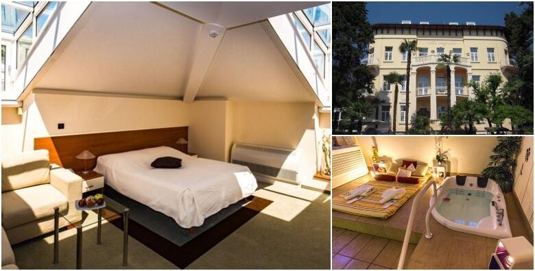 MEGA POPUST: 70% - LOVRAN - 2 noćenja s doručkom za dvoje u hotelu Villa Eugenia 4* uz korištenje whirlpoola, saune i masažnog tuša za 799 kn! (Hotel Villa Eugenia 4*)