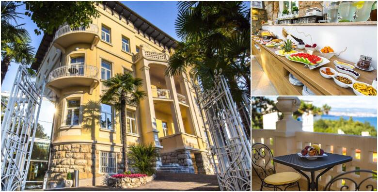 LOVRAN - 2 noćenja s doručkom za dvoje u hotelu Villa Eugenia 4* za 799 kn!