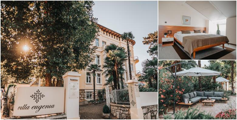 LOVRAN - savršeno spa opuštanje uz 2 noćenja s doručkom za dvoje + gratis smještaj za dijete do 2 godine uz korištenje saune u Hotelu Villa Eugenia 4* za 999 kn!