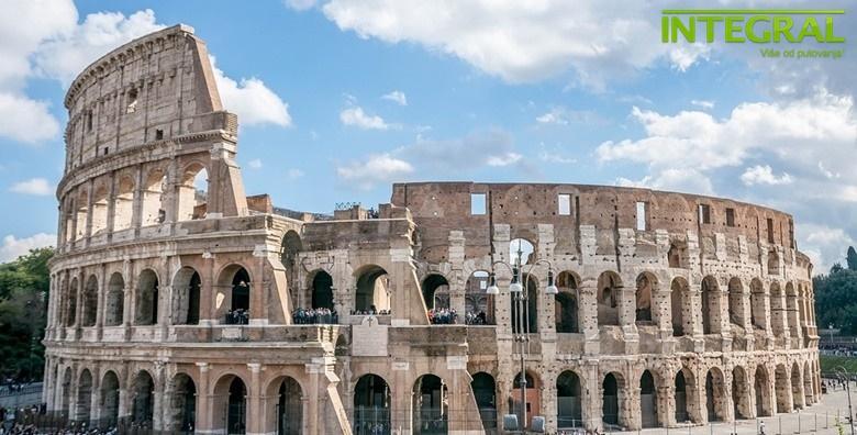 Ponuda dana: Rim - otputujte u grad na sedam brežuljaka uz razgled Vatikana - 4 dana s doručkom u hotelu 3* uz uključen povratni let od 2.090 kn! (Integral putovanjaID kod: HR-AB-01-1-18661)