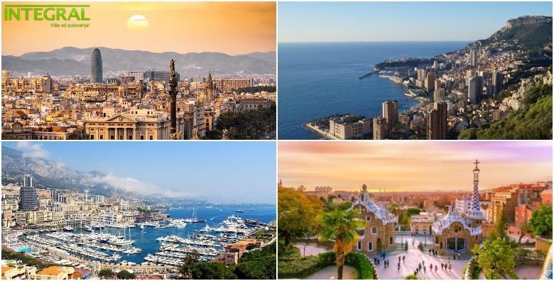 Barcelona i Azurna obala - 6 dana s doručkom i prijevozom za 2.450 kn!