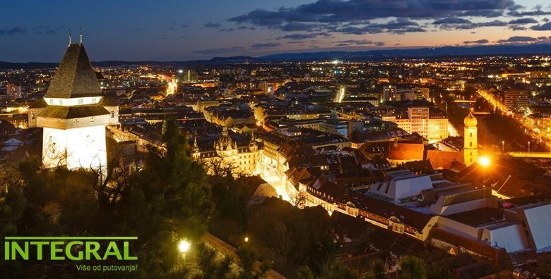 Advent u Grazu - uživajte u blagdanskoj prijestolnici uz bogatu gastronomsku i kulturnu ponudu te uključen posjet shopping centru Seiersberg za 130 kn!