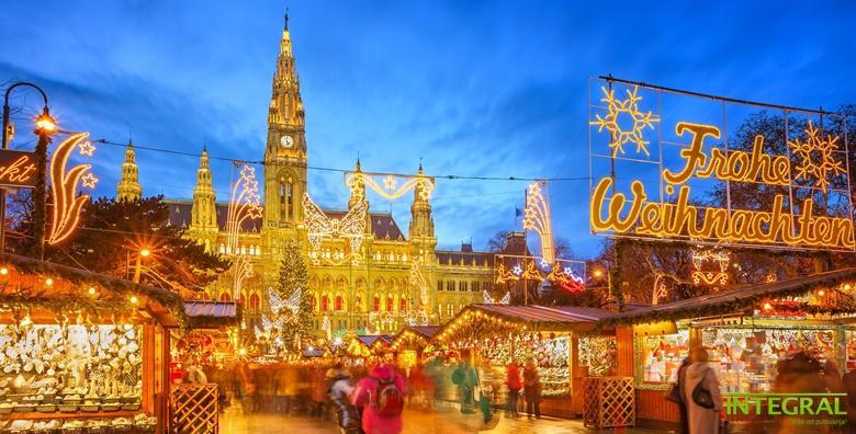 Advent u Beču - 3 dana s doručkom u hotelu 3/4* i prijevozom za 980 kn!