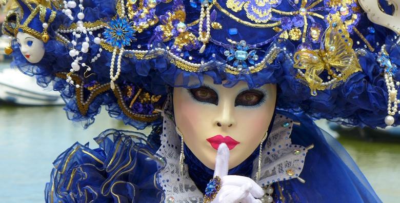 Karneval u Veneciji i posjet otocima lagune - 2 dana s doručkom i prijevozom za 580 kn!