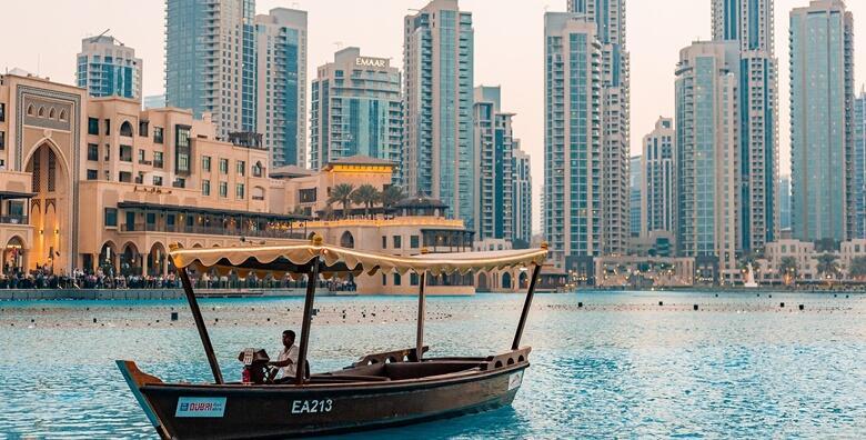 DUBAI - 5 noćenja s doručkom u hotelu 4* uz uključene zrakoplovne pristojbe za 6.450 kn!