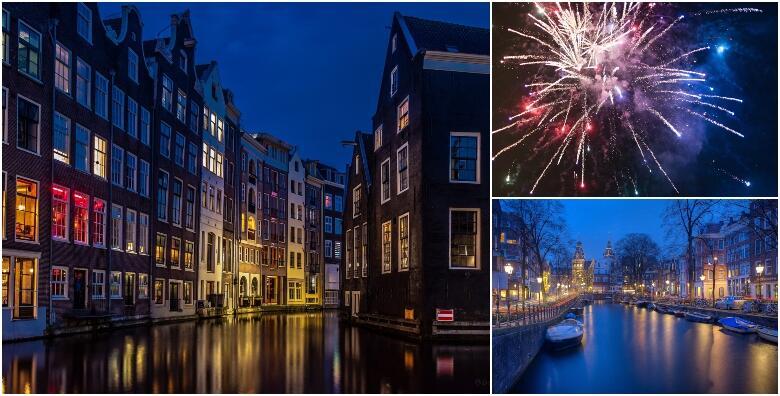 Doček Nove godine u Amsterdamu - uzbudljiva proslava uz 3 noćenja s doručkom u hotelu 3* u popularnom gradu sa zanimljivostima na svakom uglu za 2.950 kn!