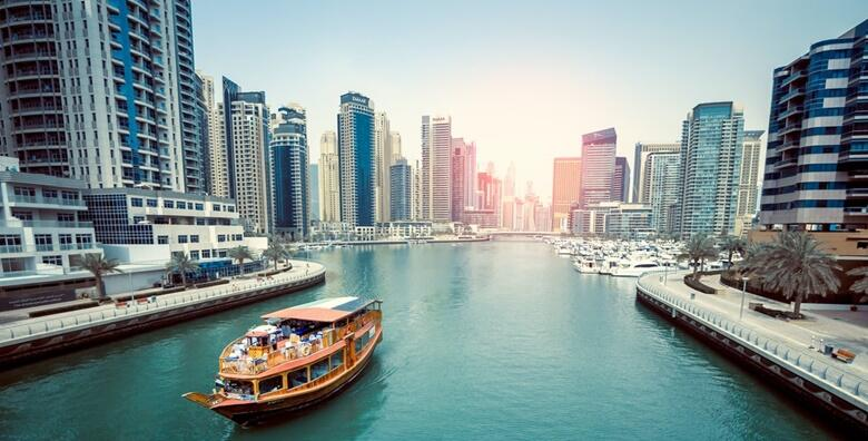 DUBAI - 5 noćenja s doručkom u hotelu 4*, plovidba vodenim taxijem, shopping u Dubai Mallu, vidikovac Burj Khalife + uključene zrakoplovne pristojbe za 5.950 kn!