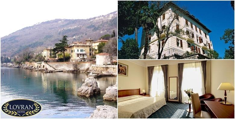 Ponuda dana: 2 noćenja s polupansionom za dvije osobe u Hotelu Lovran 3* na samom šetalištu Lungomare - zaboravite na zimu uz blagu mediteransku klimu za 989 kn! (Hotel Lovran 3*)