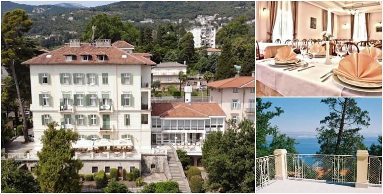 Hotel Lovran 3* na samom šetalištu Lungomare - 2 noćenja s doručkom ili polupansionom za 2 odraslih i 2 djece do 8 godina tek 50 metara od prekrasne plaže od 899 kn!