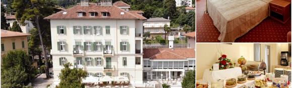 Hotel Lovran 3* - 2 noćenja s polupansionom za dvije osobe + gratis ponuda za 1 dijete do 8 godina i 1 dijete do 12 godina u hotelu na samom šetalištu Lungomare za 1.299 kn!