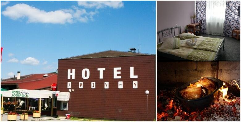 JOSIPDOL - opustite se u okruženju prirode uz 1 ili više noćenja s polupansionom za 2 osobe i gratis smještajem za 1 dijete do 1,99 godina u hotelu 3* od 439 kn!
