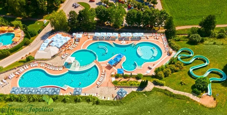 [TERME TOPOLŠICA] Ljetna uživancija za dvoje uz neograničeno kupanje! 2 ili 3 noćenja s polupansionom u hotelu 3* uz korištenje bazena i wellnessa od 1.323 kn!
