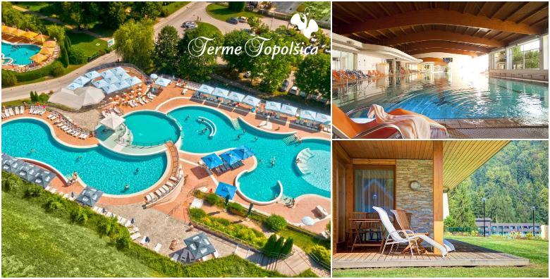 Terme Topolšica, apartman 4* - 2 noći s polupansionom i kupanjem za 2 do 4 osobe od 1.397 kn!