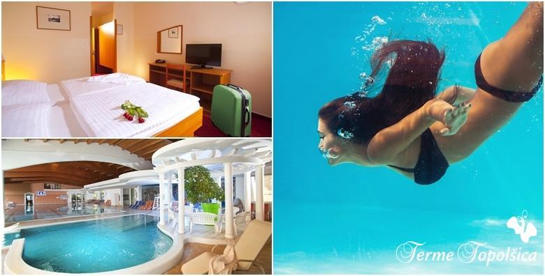Terme Topolšica - 2 noćenja s punim pansionom za dvoje u Hotelu Vesna 3* uz pristup hotelskim bazenima i saunama te animacijski program za 1.406 kn!