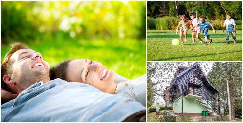 POPUST: 40% - GORSKI KOTAR - organizirajte aktivan proljetni odmor u prirodi za obitelj ili prijatelje uz korištenje roštilja! Zaigrajte pikado, stolni tenis i prošetajte kroz netaknutu prirodu (Kuća Bruno 3*)