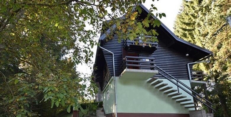 GORSKI KOTAR - organizirajte aktivan odmor u prirodi za obitelj ili prijatelje uz 2 noćenja za do 6 osoba u autohtonoj drvenoj kući 3* uz korištenje roštilja za 899 kn!