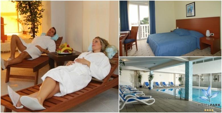 Lovran, Hotel Park 4* - 1 noćenje s polupansionom i korištenjem spa zone za dvoje za 525 kn!