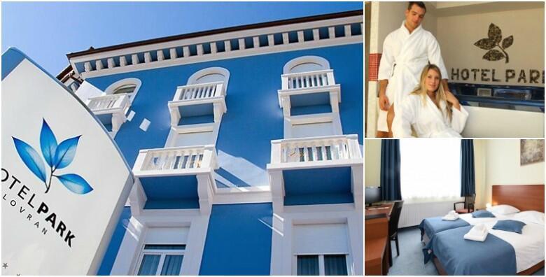 Lovran, Hotel Park 4* - 1 noćenje s polupansionom i korištenjem spa zone za dvoje za 690 kn!