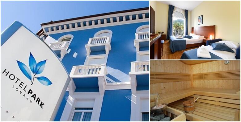 LOVRAN, Hotel Park 4* - 2 noćenja s polupansionom i korištenjem spa zone za dvoje od 1.500 kn!