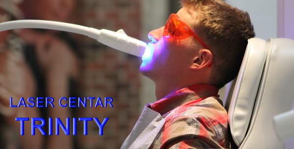 Izbjeljivanje zubi 3D laserom