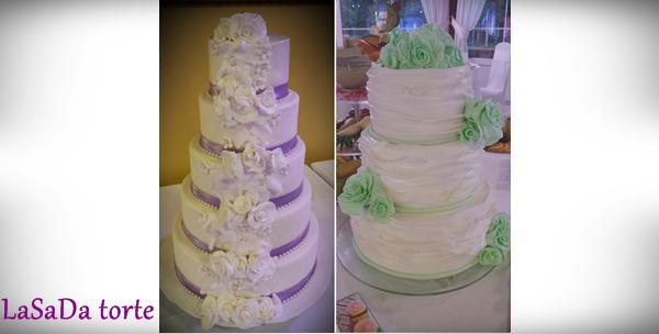 Svadbena torta – voucher za 99kn ili 149kn kojim ostvarujete 40% popusta na tortu