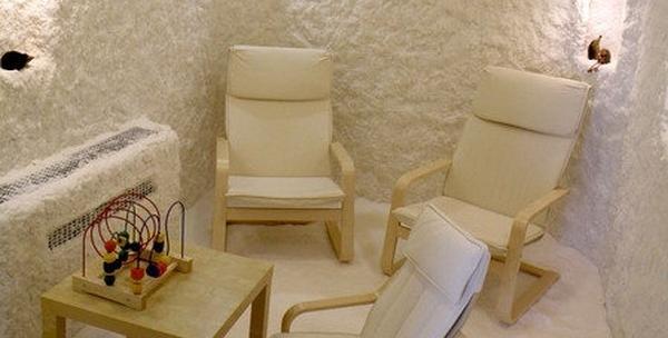 Haloterapija u slanoj sobi