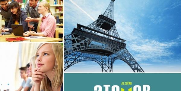 Intenzivni početni tečaj francuskog za 195kn