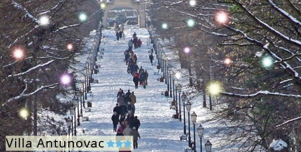 Advent u Zagrebu - 3 ili 4 dana za dvoje, Villa Antunovec***