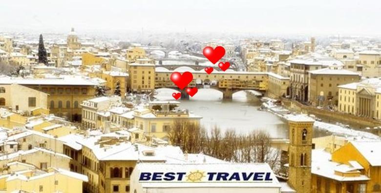 Valentinovo u Toskani i Umbriji - 3 dana s doručkom
