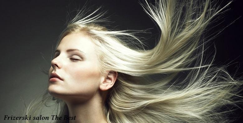 Bojanje, šišanje, pranje, masaža vlasišta i fen frizura za 119kn!