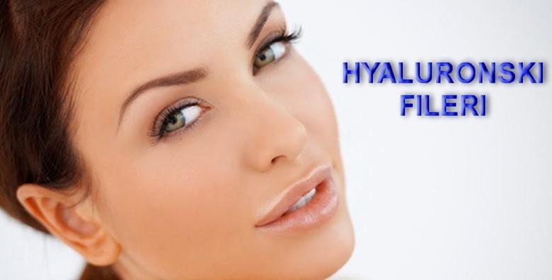 Hijaluron - popunjavanje usana ili bora lica